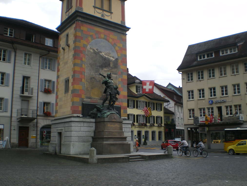 Tell-Denkmal in Altdorf